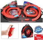 Portable Cars Rennbahn im Koffer Autorennbahn Komplett-Set mit 2 Autos Auto Car Racing Spielzeug Kinder RC mit Adapter Rennstrecke Kind Kinder Junge Zuhause