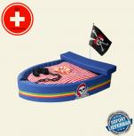 Designer Kuschel Piraten Schiff Piratenschiff Hund Katze Schlafplatz Hunde Bett Hundebett Katzenbett Haustier
