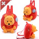 Disney Winnie the Pooh Pu der Bär Kind Kinder Plüsch Rucksack Tasche Schultasche Schulranzen Kindergarten Primarschule Honigbär Fan