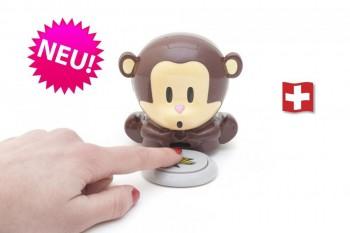 Pusteäffchen Affe Nageltrockner Geschenk Äffchen Blow Monkey Geschenk Idee