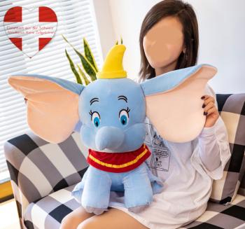 Disney Plüsch Dumbo Plüsch Elefant Elefanten Plüschtier Kuscheltier Kind Kinder Fan 55cm Geschenk