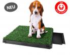 Deluxe Hunde Klo WC Hundeklo Hundewc Welpen Toilette Trainingsgerät Welpentoilette USA Klo HIT