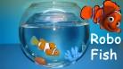 Robo Fish Robo Fisch Robofisch Spielzeug Kind Kinder Nemo Clown Clownfisch Wasser Wasserspielzeug Aquarium Zuhause