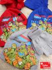 Teenage Mutant Ninja Turtles TMNT Mütze Beanie Cap Mütze Handschuhe Set ONE SIZE in verschiedenen Farben für Fan Kind Kinder
