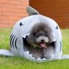 Hunde Hund Hundebett Bettchen Schlafplatz Kuschel Korb Bett Hai