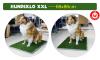 Hundewc Welpentoilette Hundetoilette Hundeklo Welpen Hunde Klo Kunstgras Stubenrein 68x86cm XXL Grösse Drei Schichten