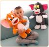 Tom und Jerry Plüschtier Plüsch Geschenk XL 70cm Kater Maus Spielzeug Plüschtier Set Geschenk Kind Kinder Frau Freundin TV Serie Kino Fan