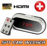 Full HD Spionage Wecker Verstecke Kamera HD Format mit HDMI Ausgang Spy Cam Video Überwachung