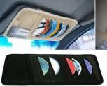 Auto KFZ PKW CD- Halter Tasche Sonnenblende für 12 CD'S