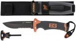 Gerber Bear Grylls Ultimate Survivalmesser mit Wellenschliff Messer Outdoor Camping Jagd TV Kult DMAX