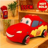 Disney Pixar Cars Lightning McQueen Kuscheltier Plüsch Tier Plüschtier 55cm Geschenk