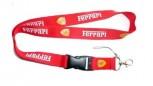 Ferrari Auto Schlüsselband Schlüsselanhänger Schlüssel Band Anhänger Fan Fanartikel Accessoire Rot