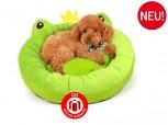 Hundebett Hund Bett Schlafplatz Kuschel Korb Frosch Designer Hingucker