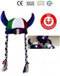 Italien Italy Fan Hut Kappe Hörner Fussball EM WM Tennis Freizeit