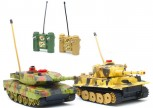 Ferngesteuerte Mini Panzer R/C Kampfpanzer mit Infarot Kampfsimulation Sound Gefechtssimulation