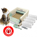 Automatische Automatik Katzen Toilette WC Katzentoilette Sauber Frisch USA Hit