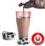 Milch Schoko Schokolade Ovi Ovo Moo Mixer Verrührer Gerät Becher Hit aus USA Mobil Unterwegs Becher Geschenk