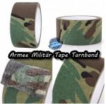 10Meter Militär Camouflage Klebeband TARNUNG Tarn Optik Band Outdoor