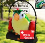 Sprechender Plüsch Papagei Vogel Kinder Spielzeug Kinderspielzeug Geschenk Hit