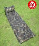 Selbstaufblasbare Militär Luftmatratze Luft Matratze Schlafsack Schlafmatte Camping Outdoor