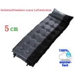 Schlafmatte Schlafsack Selbstaufblasbare Luftmatratze Kissen 5 cm dicker Luxus Modell