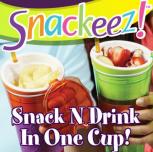Snackeez 2in1 Behälter Trinkhalm Aufbewahrungslösung