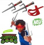 Teenage Mutant Ninja Turtles Rollenspiel-Set Raph Raphael Rafi Kostüm Spielzeug Waffen Set Kind Junge TMNT TV Kino