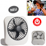 Batterien Ventilator Fan Reisen Büro Outdoor Camping Batterien Betrieb Mobil