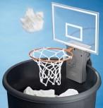 Basketballkorb für den Mülleimer Papierkorb Basketball Geschenk Büro Gag Hit