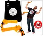 Wasserkriege Wasserpistolen Spiel Spielzeug Lustig Blut Weste Westen Wasserpistole