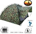 Militär Outdoor Camping Zelt 3 Personen Openair Angler Jäger Vorzelt